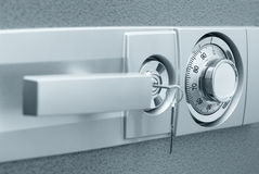 Safe with combination lock Royalty Free Stock Photography