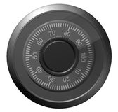 Safe combination lock. Knob with figures Royalty Free Stock Photography