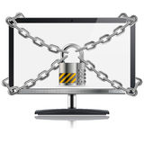 Safe Computer Concept Stock Images