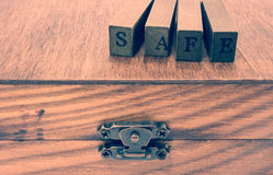 Safe concept Stock Photography