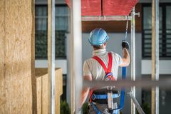 Safe Construction Work stock images