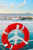 Safe cruise background Royalty Free Stock Photography