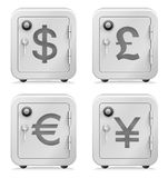 Safe, Currency Symbol, Security, Vault, Money, Banking Royalty Free Stock Photos