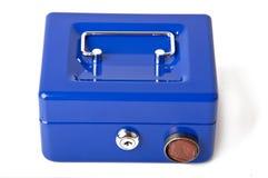 Safe deposit. Box on a white background Royalty Free Stock Photo