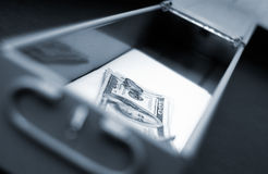 Safe deposit box Stock Photos