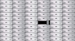 Safe deposit box Royalty Free Stock Photography