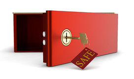 Safe deposit box Royalty Free Stock Photo