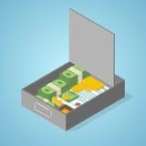 Safe deposit box Stock Images