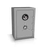 Safe deposit 3D. Vector illustration Stock Photos