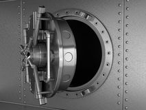 Safe deposit vault Stock Photos