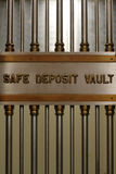 Safe Deposit Vault Vertical Royalty Free Stock Image