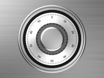 Safe dial Stock Photos
