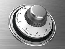Safe dial Royalty Free Stock Photos