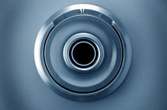 Safe dial of a vault Royalty Free Stock Photos