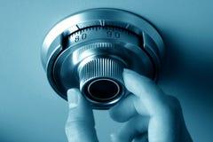 Safe dial of a vault Royalty Free Stock Photos