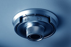 Safe dial of a vault. Security Royalty Free Stock Photo
