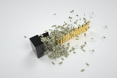 Safe and 1000000 dollars Royalty Free Stock Images