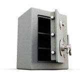 Safe with door open. Royalty Free Stock Photos
