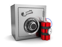 Safe and dynamite Stock Photography