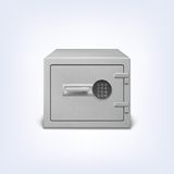 Safe with electronic lock. Royalty Free Stock Photo