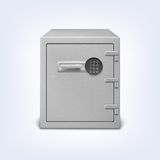 Safe with electronic lock. Stock Photography