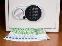 Safe with euro Stock Photos