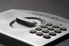 safe för detaljliggandebärbar dator Arkivbild