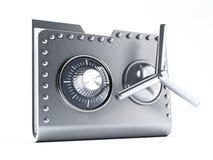 Safe folder Royalty Free Stock Images
