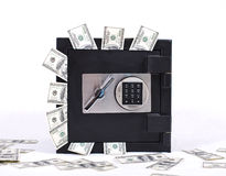 Safe full of  money. Image of safe full of money Stock Photo