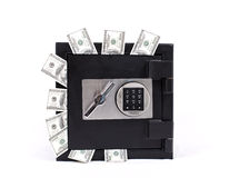 Safe full of  money Stock Photo