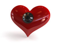Safe heart Royalty Free Stock Image