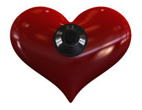 Safe heart Royalty Free Stock Photos
