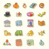 Safe icon,hand drawn vector illustration. Stock Images
