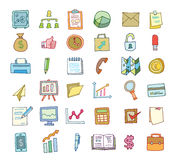 Safe icon,hand drawn vector illustration. Royalty Free Stock Photo