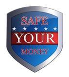Safe Ihr Geld Lizenzfreies Stockbild