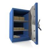 Safe. Illustration of a Safe in 3D stock illustration