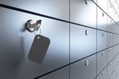Safe key Stock Image