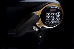 Safe Keypad Keys and Handle Electronic Security Royalty Free Stock Images