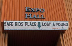 Safe Kids Place, Lost & found Stock Photos