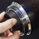 Safe Lock. Combination Lock on a Safe Stock Image