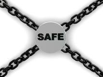 Safe lock Royalty Free Stock Photography