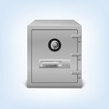 Safe with lock. Royalty Free Stock Images