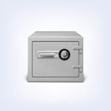 Safe with lock. Stock Photography