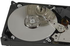 Safe lock secures hard disc Stock Photography