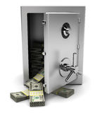 Safe with money Stock Images