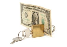 Safe money royalty free stock photo