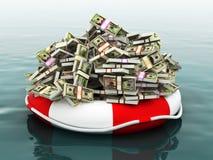 Safe money concept Stock Image