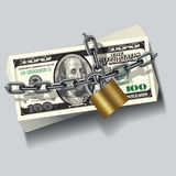 Safe money Royalty Free Stock Photos