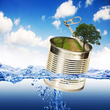 Safe nature concept stock images