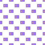 Safe pattern, cartoon style. Safe pattern. Cartoon illustration of safe vector pattern for web Stock Image